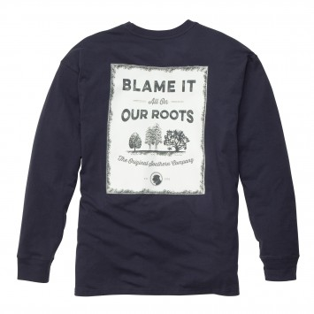 Our Roots: True Navy Long Sleeve